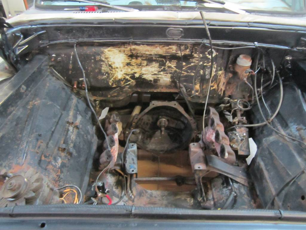 Old Pickup Engine Compartment : Is camber non adjustable ford truck enthusiasts forums