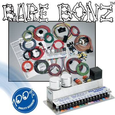 ron francis wiring - bare bonz complete wiring kit for gm simple hot rod wiring diagram #10