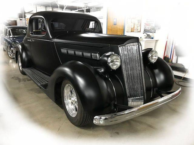 Unlike any normal '36 Packard, this Packard's Packing a Punch!