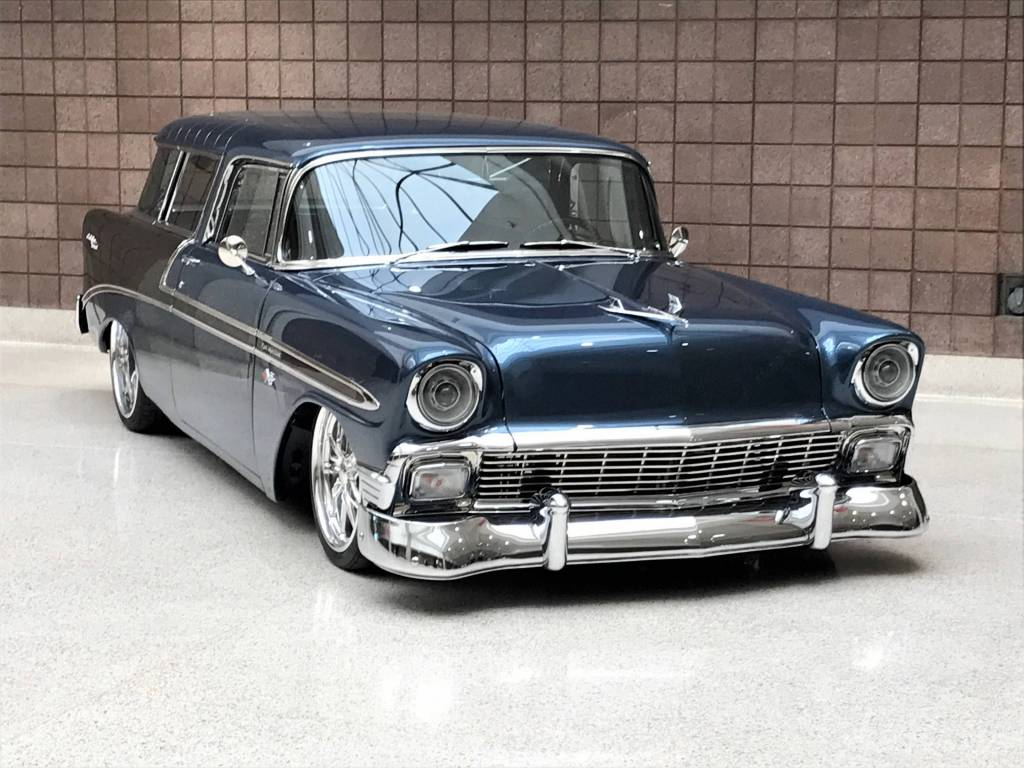 This '56 Nomad showed handsomely in the Builders' Showcase at the 50th NSRA Nat'ls in Louisville!