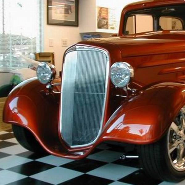 1933 Chevy Coupe Project – Jerusalem House