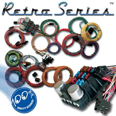 Ron Francis Retro Series Complete Wiring Harness Ford WR 75
