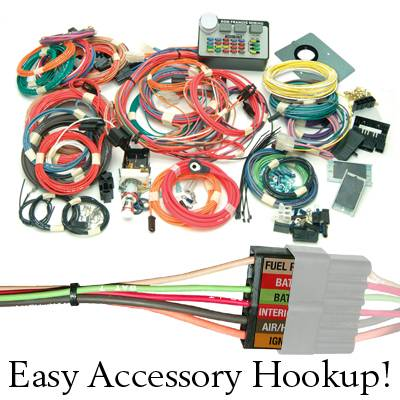 Ron Francis Access 24 7 Complete Wiring Harness Ford AC 67