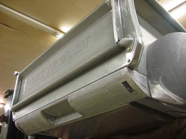 Custom rear roll pan for recessed plate and bumper brackets notice