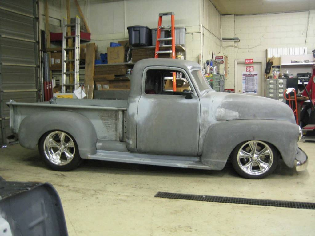 photo gallery 1950 chevy truck complete build. Black Bedroom Furniture Sets. Home Design Ideas