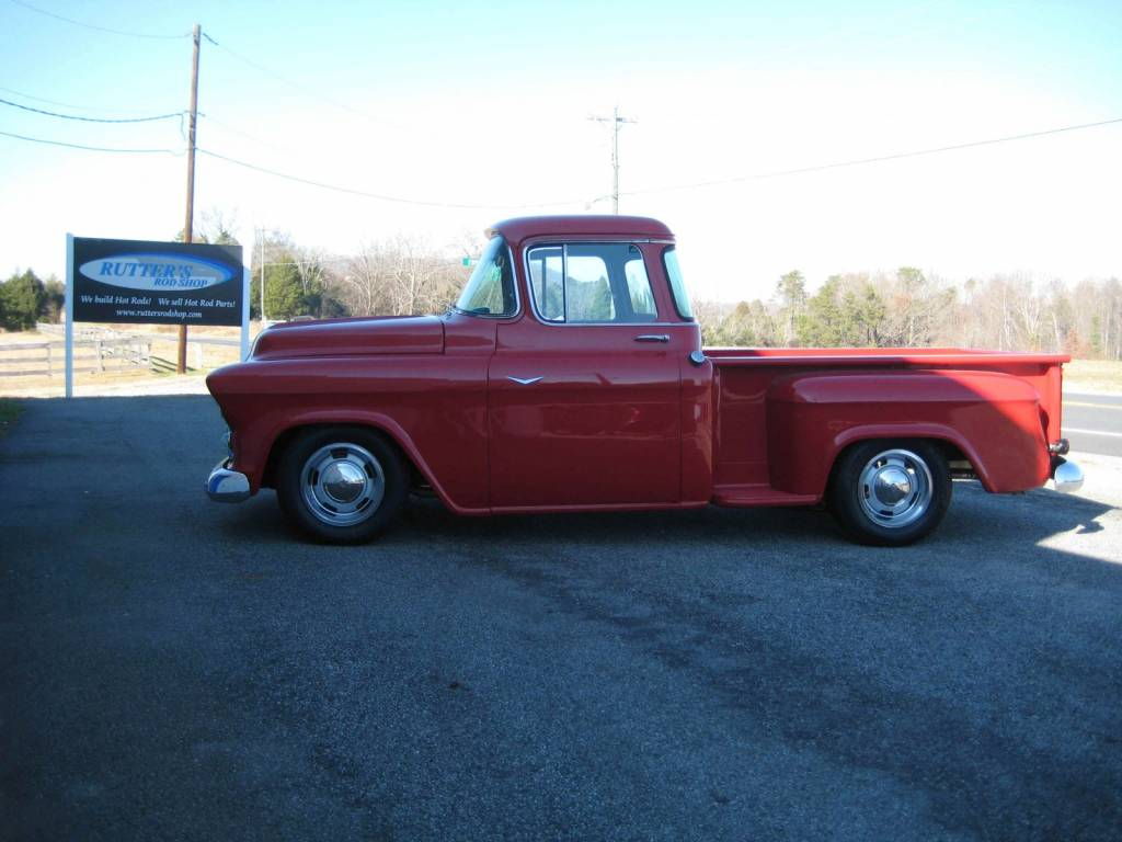 photo gallery 1957 chevy truck complete build. Black Bedroom Furniture Sets. Home Design Ideas