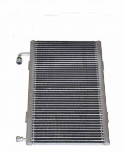 "Radiator Vertical A/C Condenser with Mounting Tabs - Aluminum Finish 12"" X 20"" - Image 1"