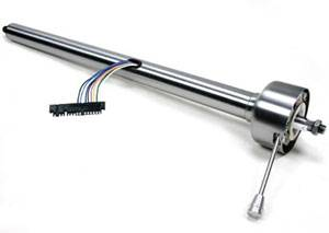 "Steering and Handling - Universal 32"" 'Classic' Straight Paintable Steel Column"