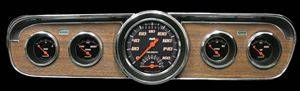 "Gauges - Velocity Black Series ""Ultimate"" 1965-1966 Mustang Pkg"