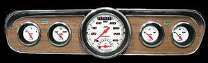 "Gauges - Velocity White Series ""Ultimate"" 1965-1966 Mustang Pkg"