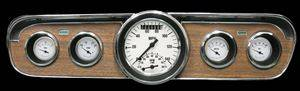"Gauges - White Hot ""Ultimate"" 1965-1966 Mustang Pkg - Image 1"
