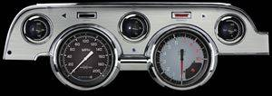 Auto Cross Gray with Brushed Aluminum 1967-68 Mustang Pkg - Image 1