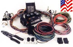 haywire deluxe 7 fuse wiring system rh ruttersrodshop com haywire wiring harness diagram haywire wiring harness diagram