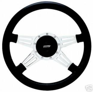 Steering and Handling - Lecarra - Mark 9 Double Slot Steering Wheel - Black - 96201