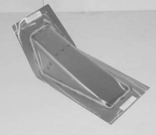 Steel Firewalls and Floors - 1937-1939 Chevy Stock Transmission Cover - Image 1