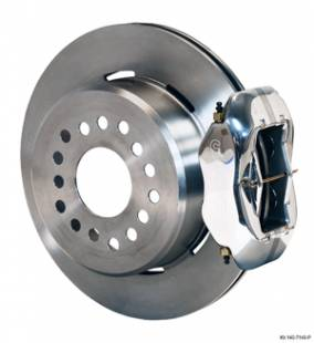 "Brakes and Brake Kits - Polished Calipers and 12"" Rotors with Parking Brake"