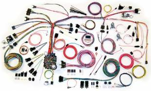 Electrical Components - 1967 1968 Camaro Complete Harness