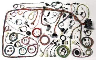 Electrical Components - 1973 - 1979 Ford Truck Complete Harness - Image 1