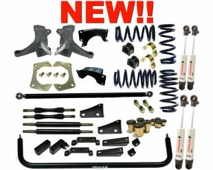 Suspension Systems - 1963-1970 C10 Chevy Truck Street Grip System for SBC - Image 1