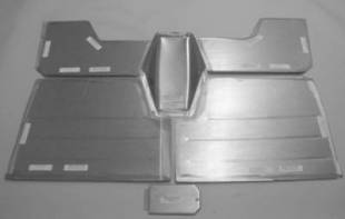 "Steel Firewalls and Floors - 1947-1954 Chevy Truck Front Floor for 4"" Setback Firewall - Image 1"