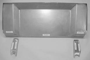 Steel Firewalls and Floors - 1941-1948 Ford 4 inch Setback Firewall - Image 1