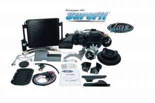Air Conditioning - 1955 1956 Chevy Gen IV SureFit Kit with Center Vent