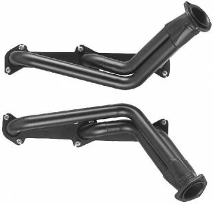 Engine Components - Ford Flat head V8 Headers Silver Ceramic - Image 1