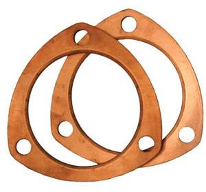 "Copper Collector Gaskets 3"" - Image 1"
