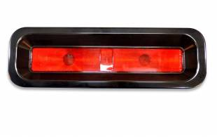 1967 Camaro Tail Light Kit Black - Image 1
