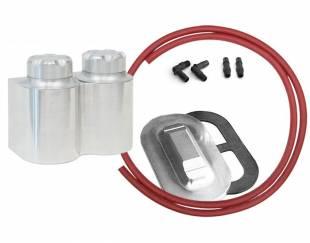 Accessories - Aluminum Double Remote Reservoir Kit Corvette Master - Image 1