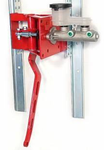 "Brakes and Brake Kits - 90° Under Dash Brake Pedal Assembly With 1"" Bore Aluminum M/C - Image 1"