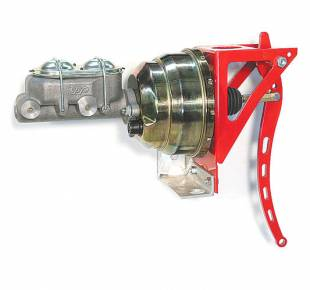 """Brakes and Brake Kits - Power Brake 1"""" Bore Cast Iron M/C With 8"""" Dual Booster - Image 1"""