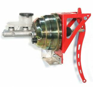 "Brakes and Brake Kits - Power Brake 7/8"" Bore Aluminum M/C With 8"" Dual Booster - Image 1"