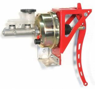 "Brakes and Brake Kits - Power Brake 1"" Bore Aluminum M/C With 7"" Booster - Image 1"