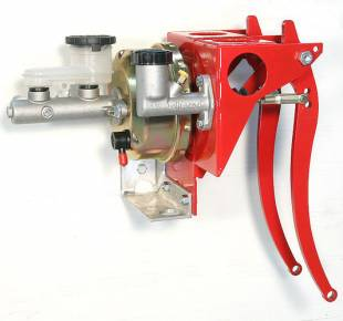 """Brakes and Brake Kits - Power Brake & Clutch With 7/8"""" Aluminum M/C With Clutch M/C & 7"""" Booster - Image 1"""