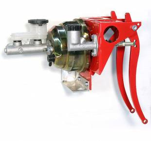 """Brakes and Brake Kits - Power Brake & Clutch With 1"""" Aluminum M/C With Clutch M/C & 8"""" Dual Booster - Image 1"""