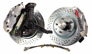 "1970-1981 Camaro Front 13"" Disc Brake Kit with Power Booster & Drop Spindles - Image 1"