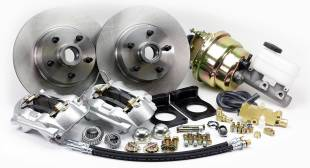 """1967-1969 Mustang Front 11"""" Disc Brake Kit with Power Booster - Image 1"""