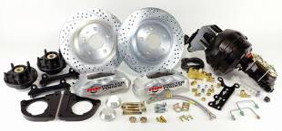"""1967-1969 Mustang Front 13"""" Disc Brake Kit with Power Booster - Image 1"""