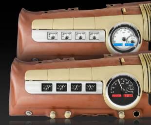 Gauges - 1942-1948 Ford Car Analog Instrument System - Image 1