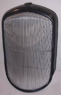 """Grills - 1932 Plymouth PB Grill - 3/8"""" Spacing - Front Polish - Image 1"""