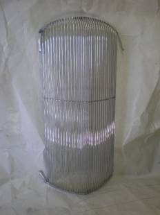 """Grills - 1936 Plymouth Grill - 3/8"""" Spacing - Front Polish - Image 1"""