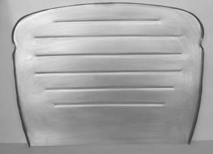 1930-1931 Ford Car/Truck Flat Firewall 2-Piece Smooth w/Cowl - Image 1