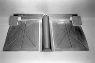 1935-1936 Ford Rear Floor SEDAN - Image 1