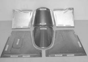 1940-1947 Ford Truck Floor Small Block - Image 1