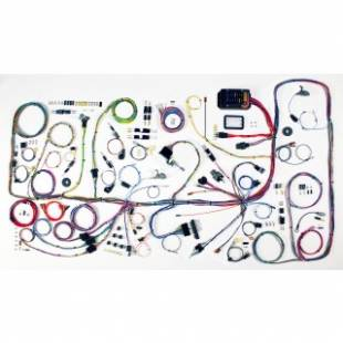 Electrical Components - 1966-1977 Ford Bronco Complete Harness - Image 1