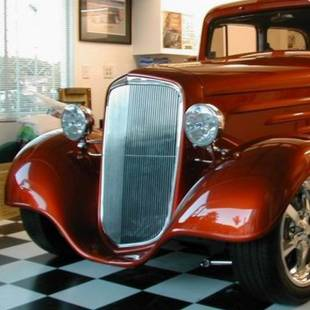 Grills - 1934-1935 Chevy Car Standard or Master with trim band - Image 1
