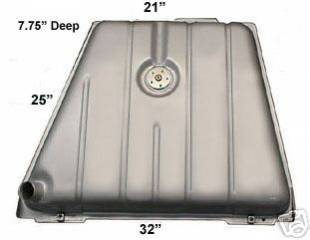1949 to 1951 Mercury Coated Fuel Tank