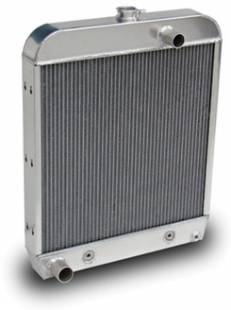 Cooling - 1952 Ford Truck Aluminum Radiator for SBC Motor - Image 1