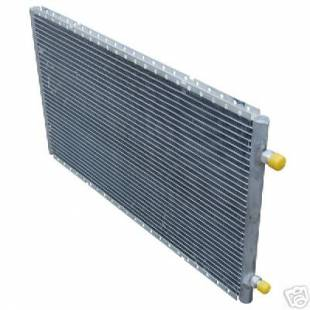 "Radiator Crossflow A/C Condenser 14"" X 24"" - Image 1"